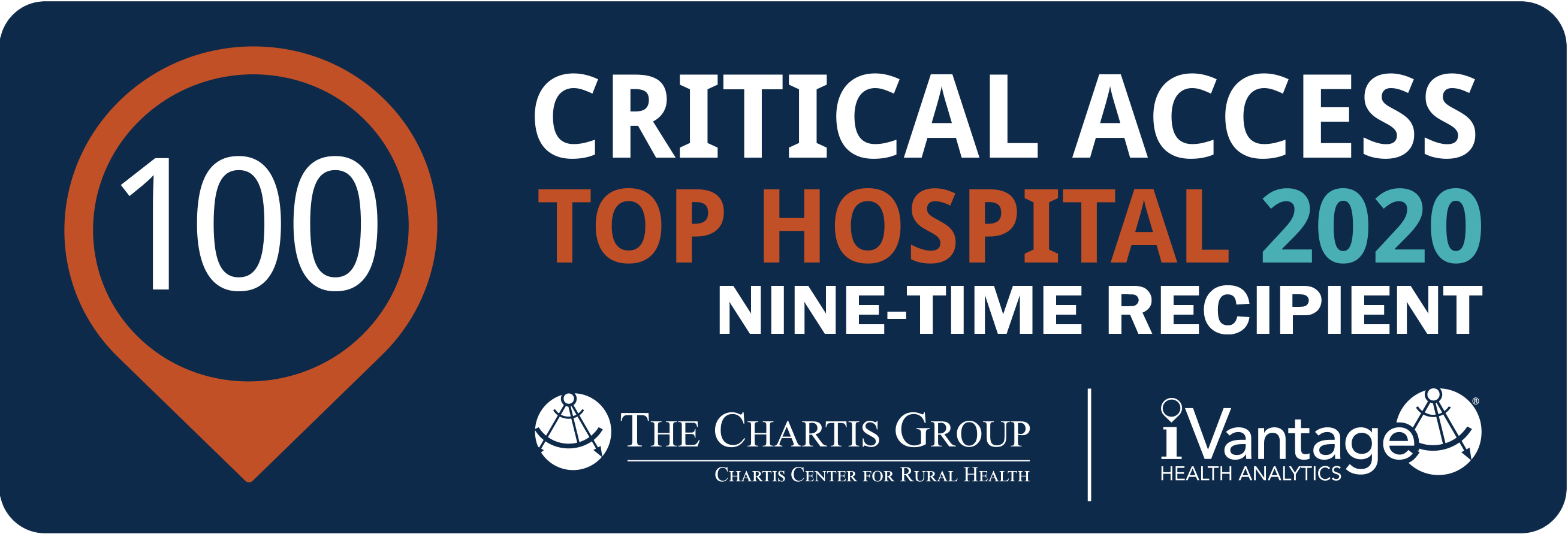 Critical Access Top Hospital 2019 Badge