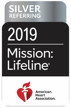 Silver Referring 2019 Mission Lifeline Badge